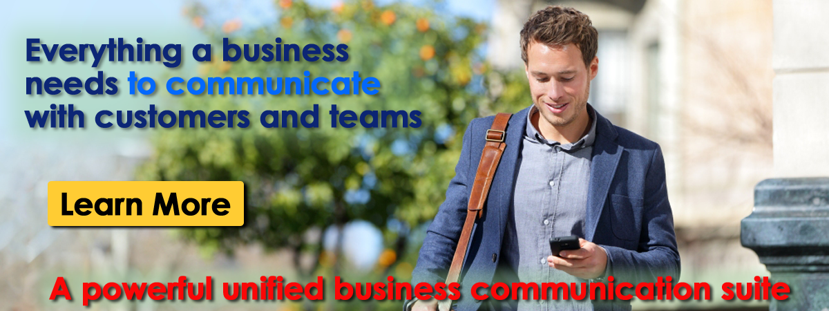 Everything a business needs to communicate with customers and teams