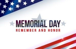 Memorial Day Remembrance and Thank You