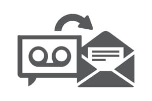 hosted voip voicemail to email